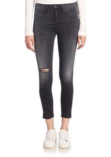 rag & bone/JEAN High-Rise Distressed Skinny Jeans