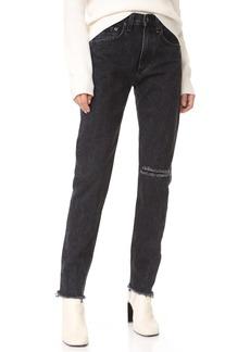 Rag & Bone/JEAN High Rise Rigid Jeans
