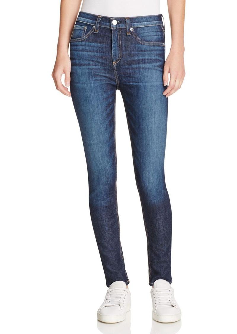 rag & bone/JEAN High Rise Skinny Jeans in Arlington