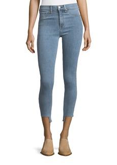 rag & bone/JEAN High-Rise Skinny-Leg Ankle Jeans
