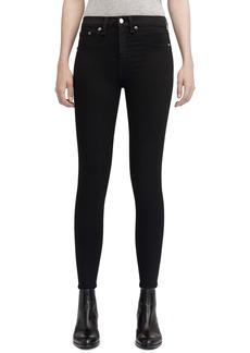 rag & bone/JEAN High Waist Ankle Skinny Jeans