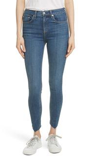 rag & bone/JEAN High Waist Ankle Skinny Jeans (Manson)
