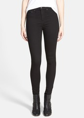 rag & bone High Waist Leggings (Black)