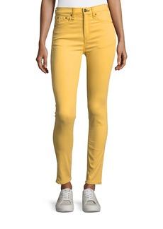 rag & bone/JEAN High-Waist Skinny Ankle Jeans