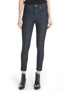 rag & bone High Waist Skinny Jeans (Indigo)