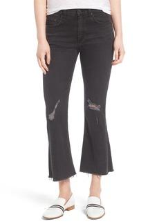 rag & bone/JEAN High Waist Velvet Crop Flare Pants