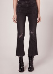 rag & bone/JEAN High Waist Crop Flare Pants
