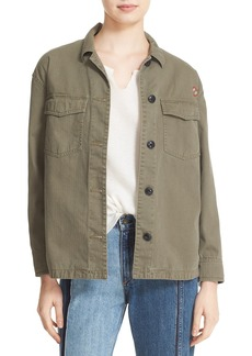 rag & bone/JEAN 'Irving' Cotton Shirt Jacket