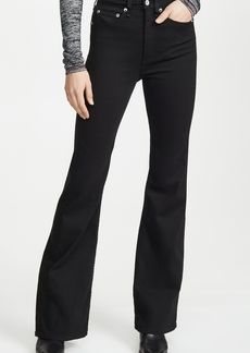 Rag & Bone/JEAN Jane Super High-Rise Flare Jeans