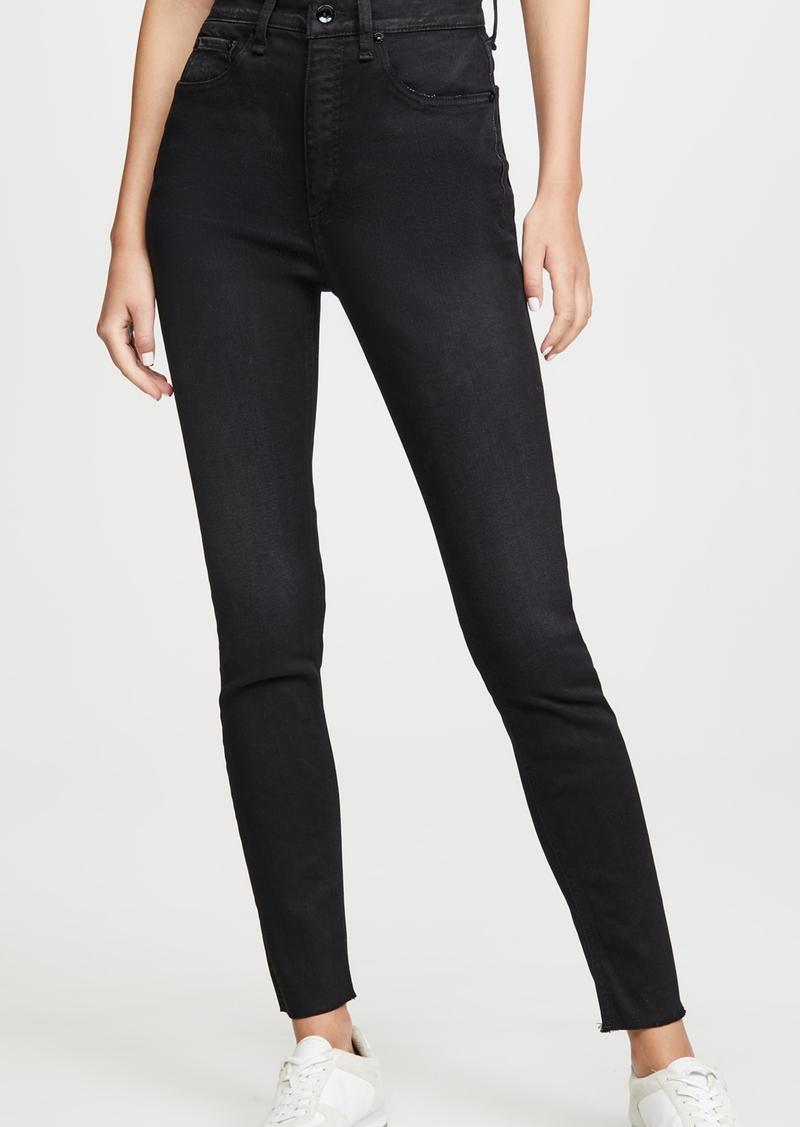Rag & Bone/JEAN Jane Super High Rise Skinny Jeans