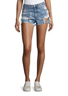 rag & bone/JEAN Justine Destroyed Denim Shorts