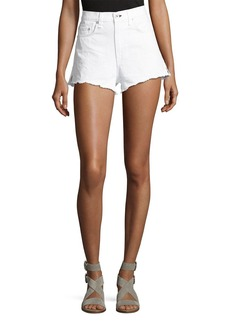 rag & bone/JEAN Justine High-Rise Cutoff Jean Shorts
