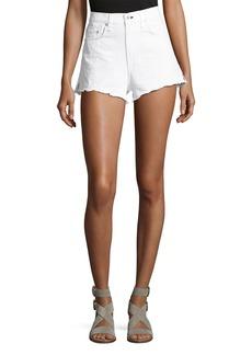 rag & bone/JEAN Justine High-Rise Cutoff Jean Shorts