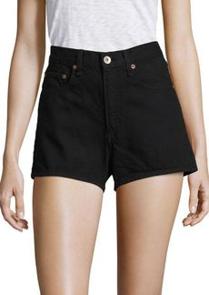 rag & bone/JEAN Justine High Rise Denim Shorts