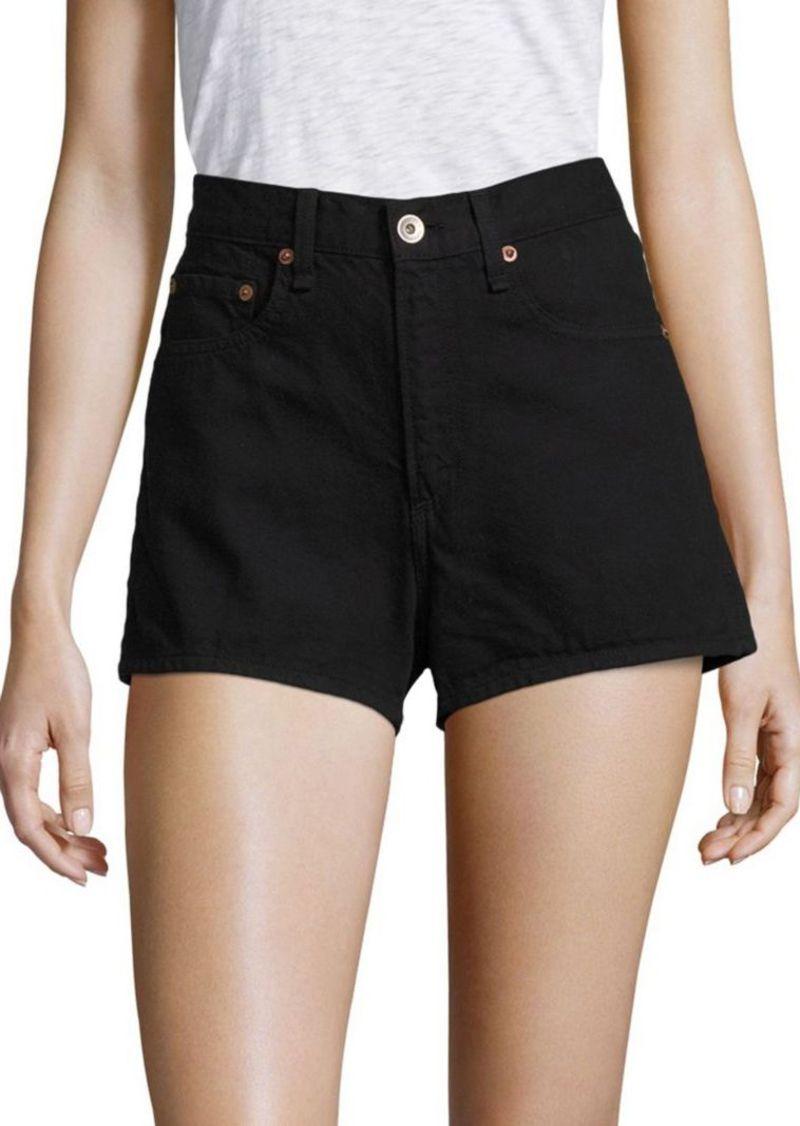 rag & bone/JEAN Justine High Rise Denim Shorts