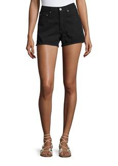 rag & bone/JEAN Justine High-Rise Denim Shorts