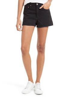 rag & bone/JEAN Justine High Waist Denim Shorts