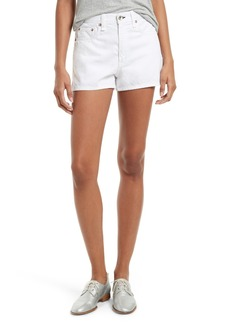 rag & bone/JEAN Justine High Waist Denim Shorts
