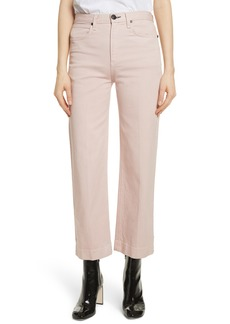 rag & bone/JEAN Justine High Waist Trouser Jeans (Blush Twill)