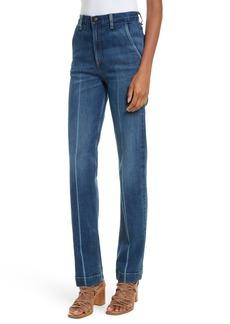rag & bone/JEAN Justine High Waist Trouser Jeans (Highwater)