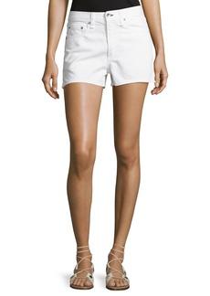 rag & bone/JEAN Justine Mid-Rise Denim Shorts