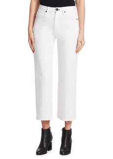 Rag & Bone Justine Wide-Leg Ankle Trousers
