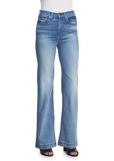 rag & bone/JEAN Justine Wide-Leg Jeans