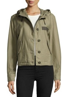 rag & bone/JEAN Laurel Cropped Parka Jacket