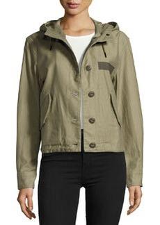 rag & bone/JEAN Laurel Cropped Parka Jacket