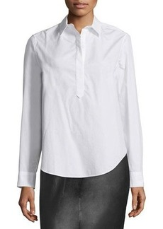 rag & bone/JEAN Leeds Split-Back Blouse