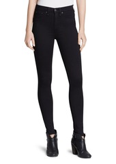 rag & bone Ankle Leggings - The High Rise in Black
