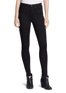 rag & bone/JEAN Leggings - The High Rise in Black