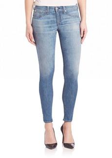 rag & bone/JEAN Light Wash Slim Fit Skinny Jeans