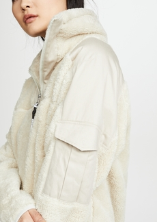 Rag & Bone/JEAN Logan Sherpa Pullover