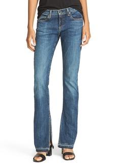 rag & bone/JEAN Lottie High Waist Bootcut Jeans (Paz)