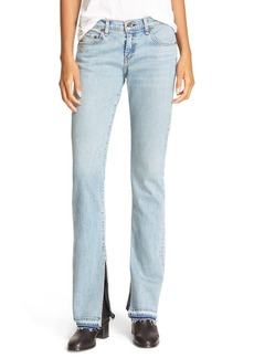 rag & bone/JEAN Lottie High Waist Bootcut Jeans (Huntington)