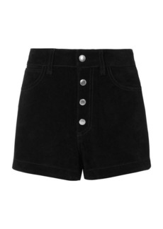 Rag & Bone/JEAN Lou Black Suede Shorts
