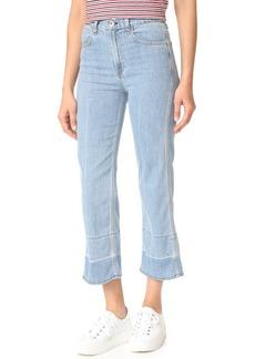 Rag & Bone/JEAN Lou Crop Jeans