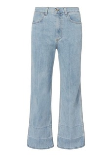 Rag & Bone/JEAN Lou High-Rise Crop Jeans