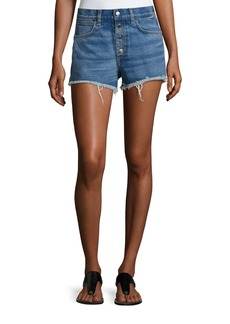 rag & bone/JEAN Lou High-Rise Cutoff Shorts