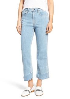 rag & bone/JEAN Lou High Waist Crop Jeans (Tivoli)