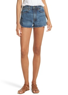 rag & bone/JEAN Lou High Waist Cutoff Denim Shorts