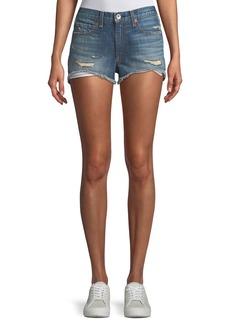 Rag & Bone Margaux Cutoff Denim Shorts