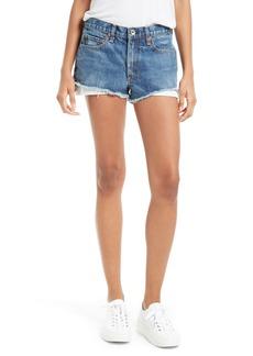 rag & bone/JEAN Margaux High Waist Denim Shorts (Rifton)