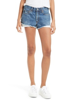rag & bone/JEAN Margaux High Waist Denim Shorts (Rifton)