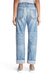 rag & bone/JEAN 'Marilyn' High Rise Crop Jeans (Willow)