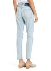 rag & bone/JEAN Marilyn High Waist Boyfriend Jeans (Union Pool)