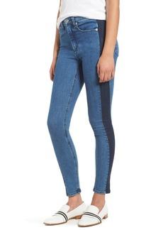 rag & bone/JEAN Mazie High Waist Skinny Jeans (Double Indigo)