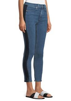 Rag & Bone Mazie Skinny-Leg Jeans with Side Stripe