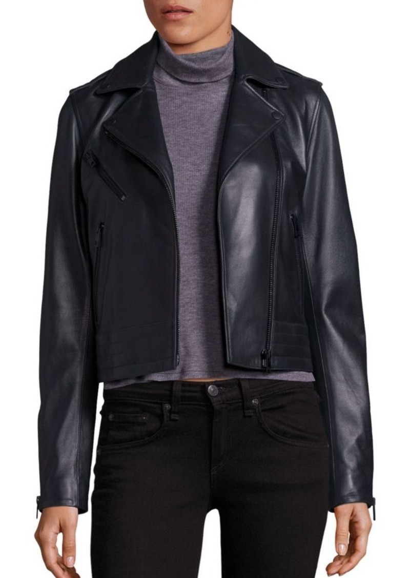 rag & bone/JEAN Mercer Leather Moto Jacket